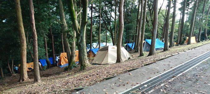 「40K筑波山キャンプ~ボランティア体験記」 -岸 和幸-