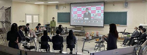 高1(42K)オンライン学年父母会を開催